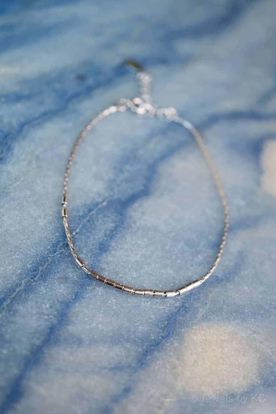 Geometric Armband Sterling Zilver