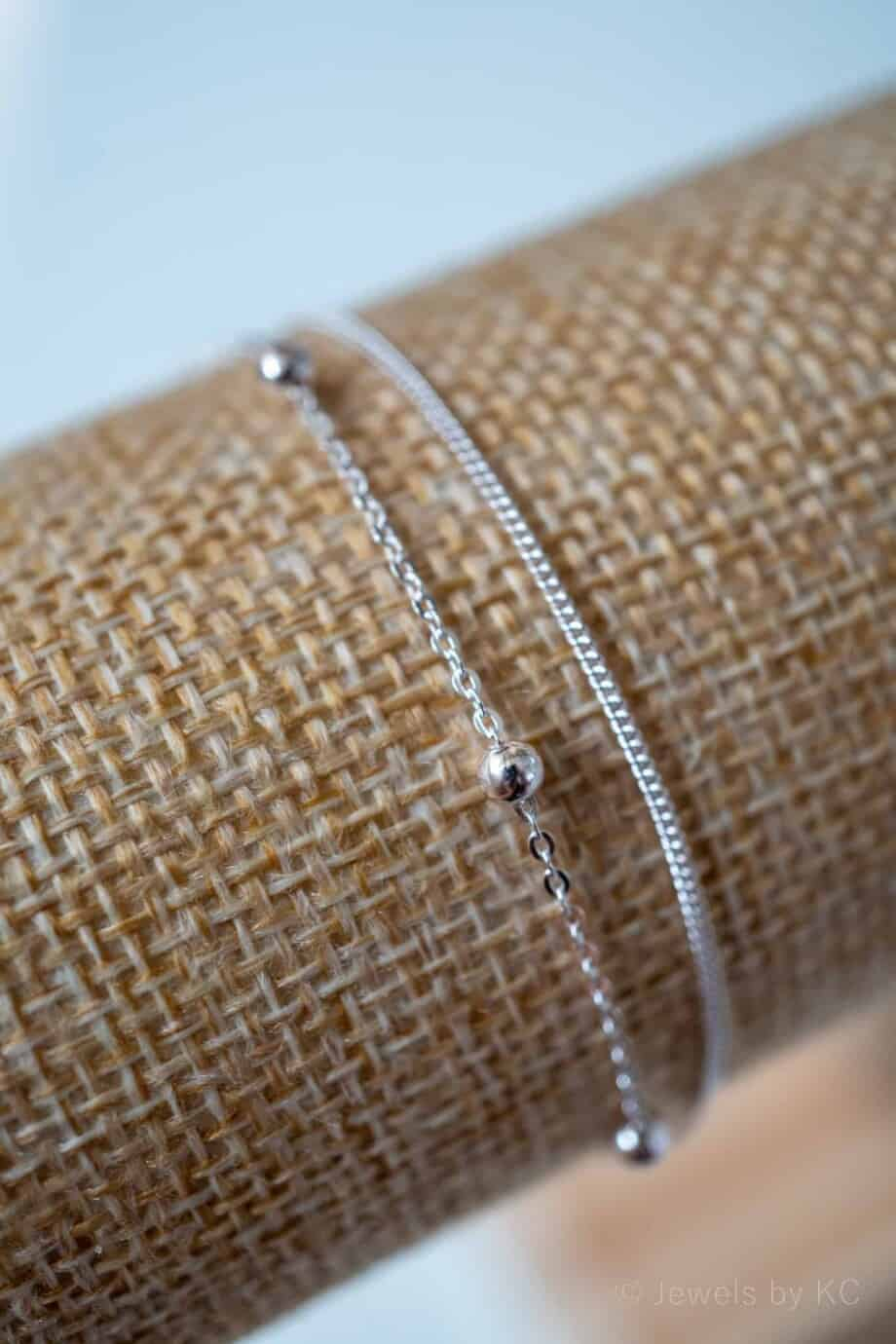 Armband 'Double Trouble' Sterling zilver