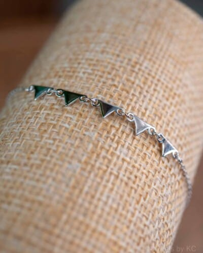 Zilveren Armband 'Pyramid' Sterling Zilver