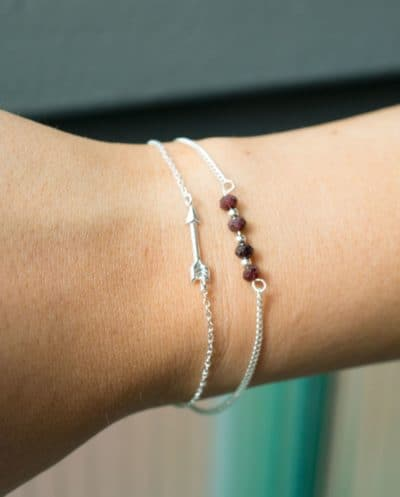 Sterling Zilver Armband 'Arrow'
