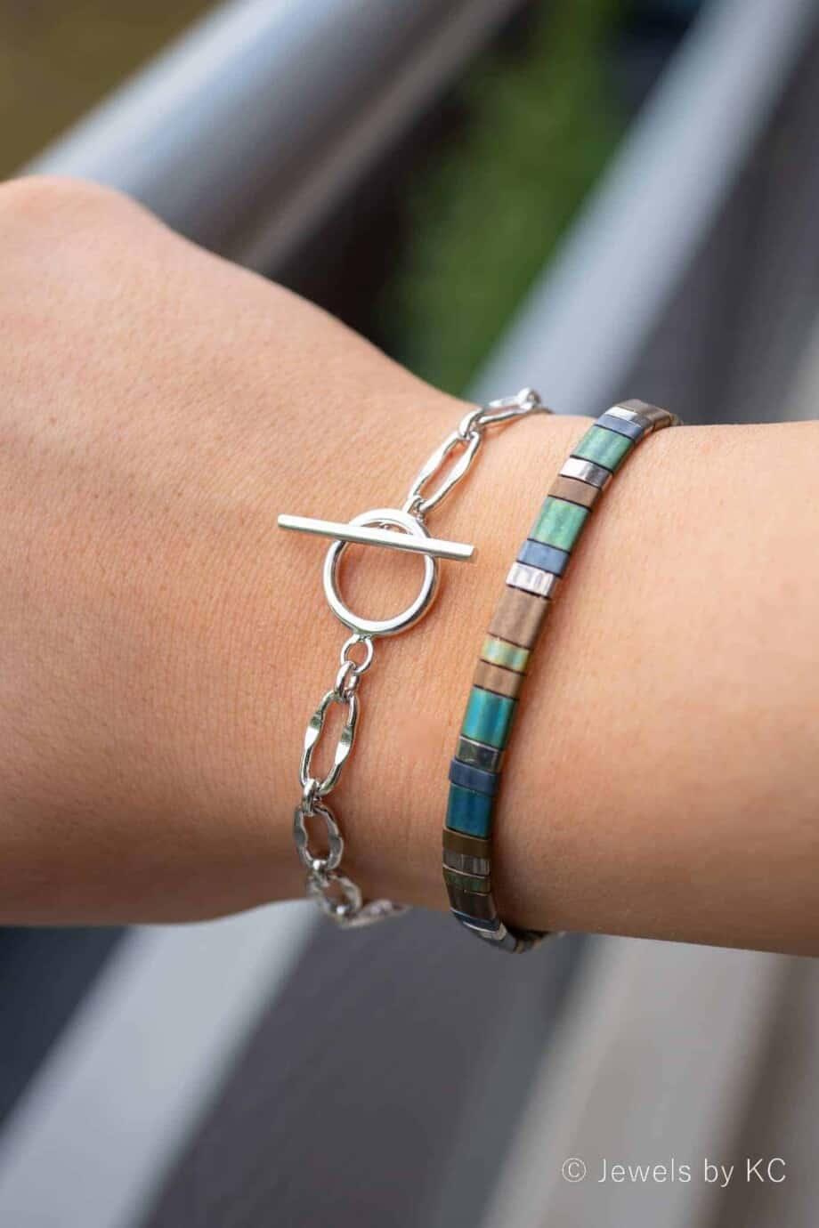 Zilveren armband 'Chunky Bracelet' van Sterling Zilver