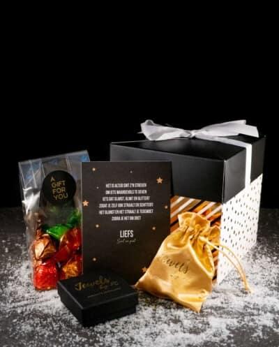 Sieraden cadeaubox 'Sint en Piet'