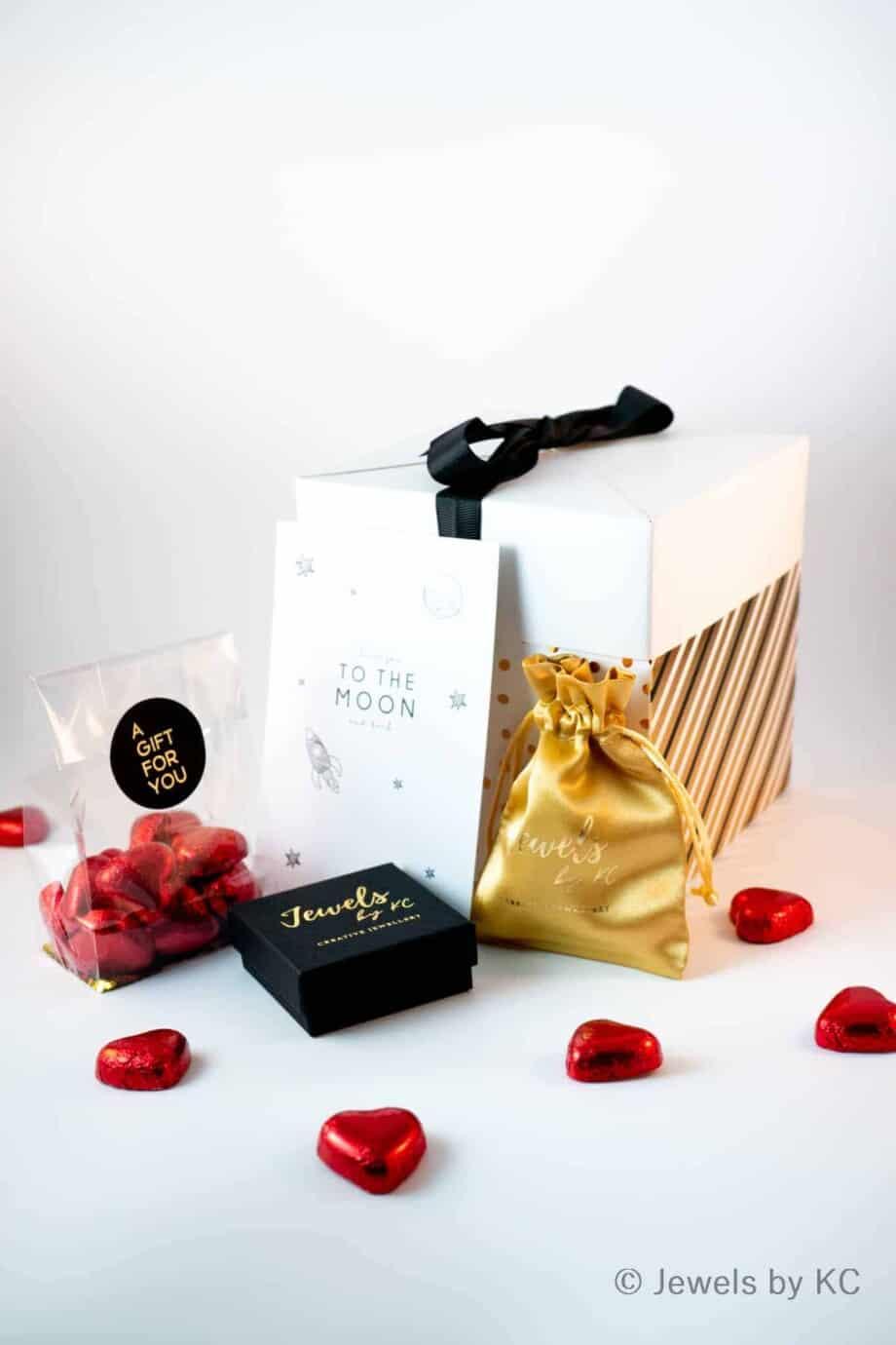 Jewels by KC valentijnsdag sieraden cadeaubox