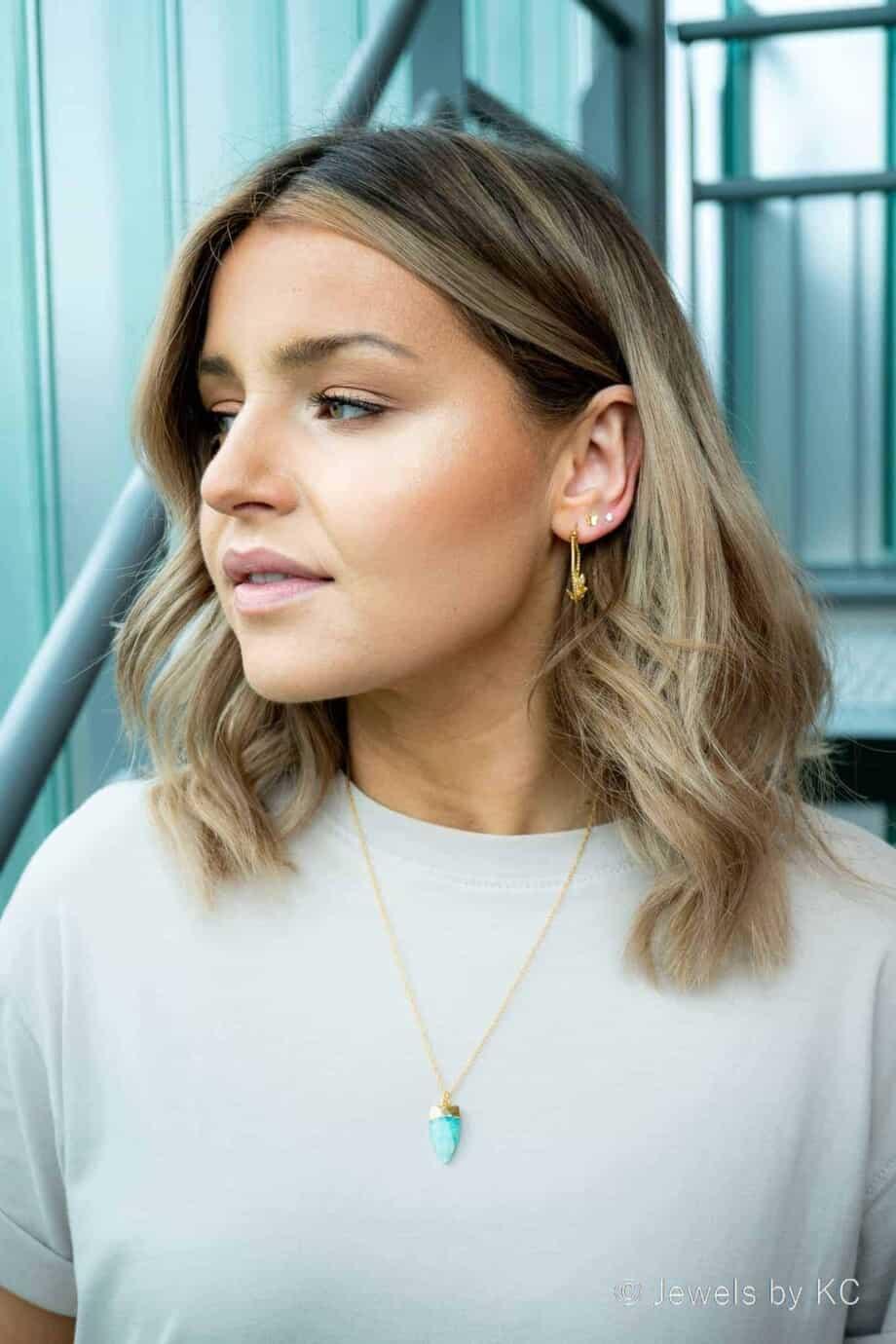 Gouden kettingen en Gouden oorbellen van Goud op Zilver