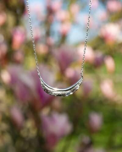 Zilveren ketting 'Texture' van Sterling Zilver