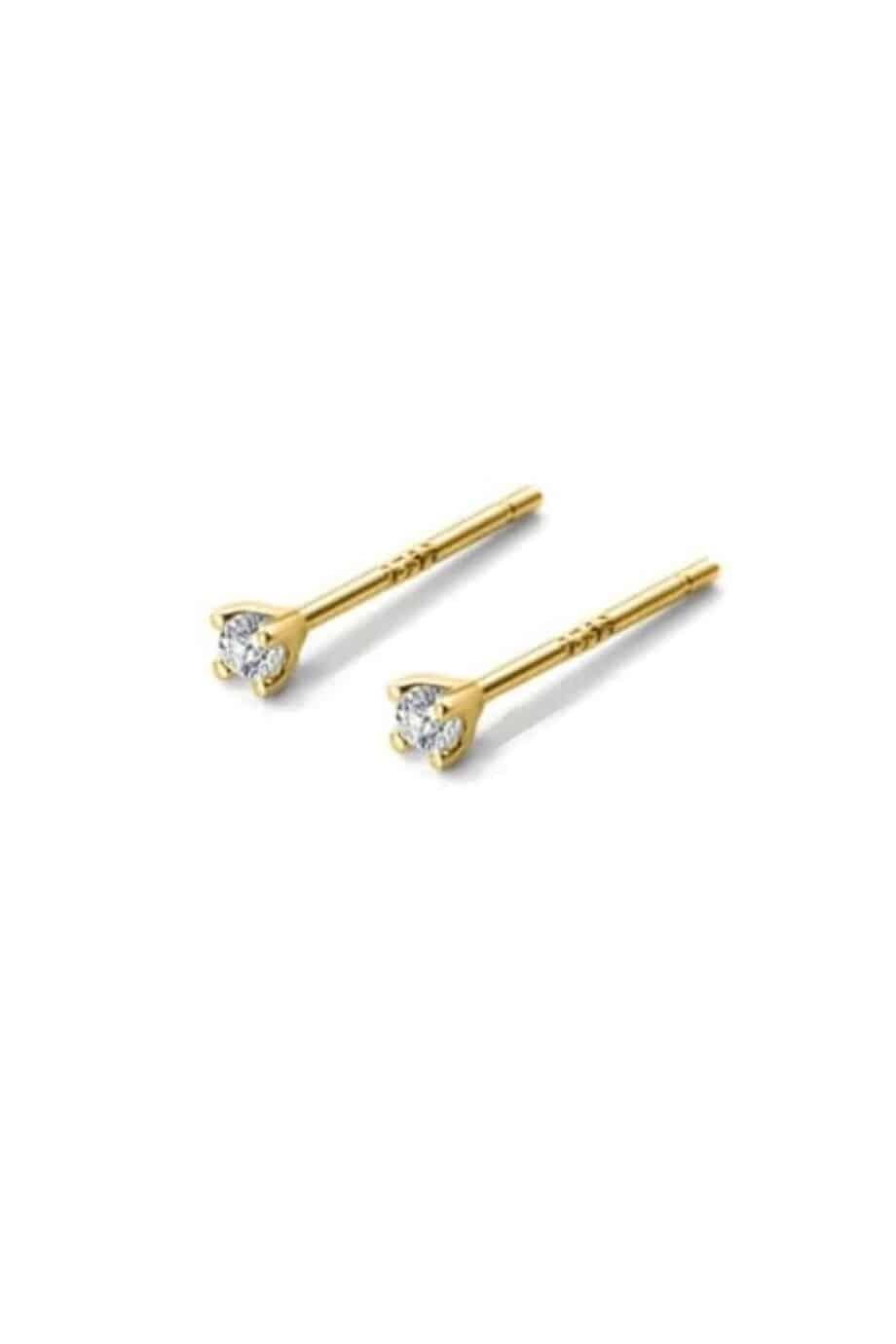 Gouden Minimalist Stud oorbellen